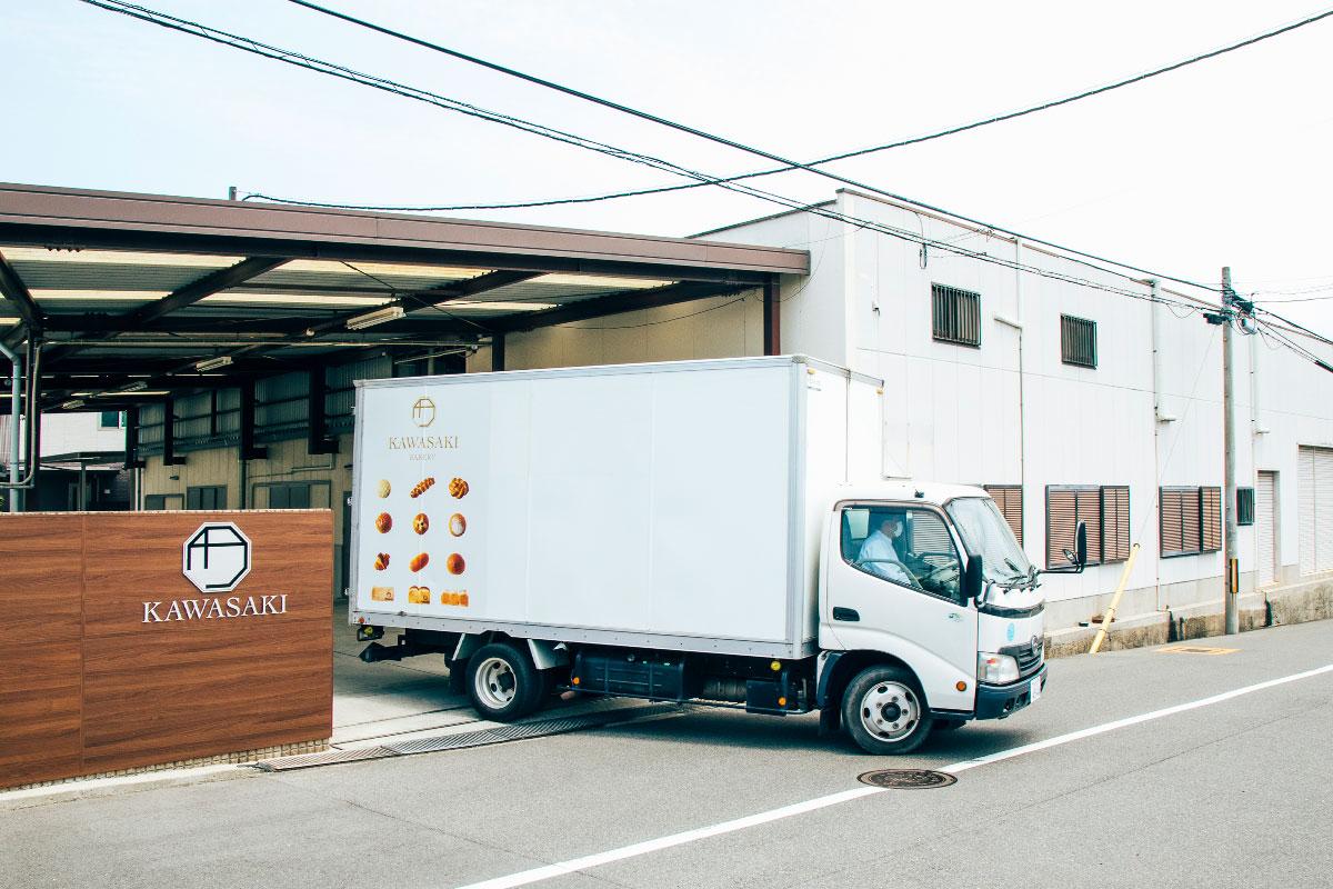 (株)川﨑製パン本社工場